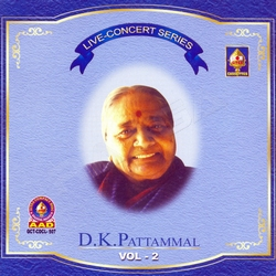 Listen to Tillana songs from Live Concert Series (DK. Pattammal) - Vol 2