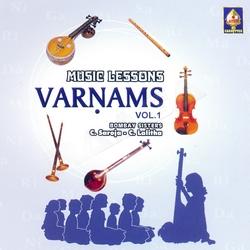 Music Lessons Varnams - Vol 1 songs