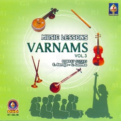 Listen to Karunimba songs from Music Lessons Varnams - Vol 3