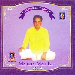 Listen to Parimala Rangapathe songs from Live Concert Series (Madurai Mani Iyer) - Vol 6