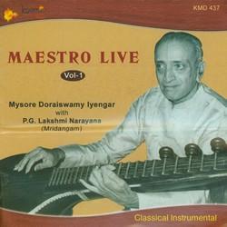 Maesteo Live (Veenai Doraiswamy Iyengar Veena) - Vol 1 songs