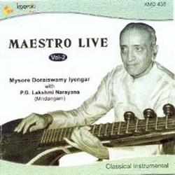 Listen to Venkatashaila songs from Maesteo Live (Veenai Doraiswamy Iyengar Veena) - Vol 2