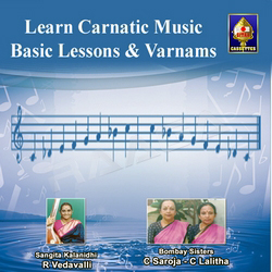 Learn Carnatic Music (Basic Lessons And Varnams) - Part 1 songs
