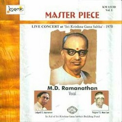 Master Piece - Vol 1 Live 1970 MD. Ramanathan