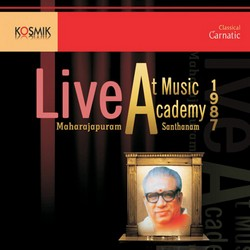 Music Acadamy Live 1987 songs