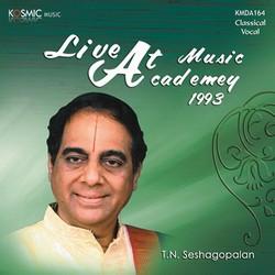 Music Acadamy Live 1993 songs