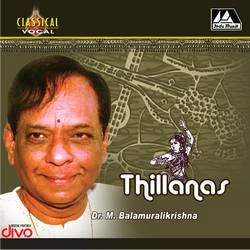 Thillanas songs