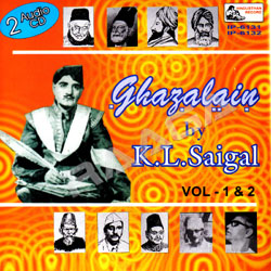 Ghazalain By KL. Saigal - Vol 1