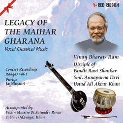 Listen to Raag Jaijaiwanti - Kise Khele Holi songs from Legacy Of The Maihar Gharana - Vol 1