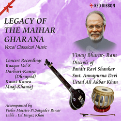 Listen to Raag Kausi Kanra - Tum Sang Lage Jiyara Morey Shyam songs from Legacy Of The Maihar Gharana - Vol 8