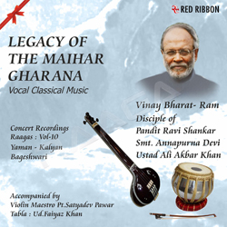 Listen to Raag Kalyan - Jage Mero Bhagaa songs from Legacy Of The Maihar Gharana - Vol 10