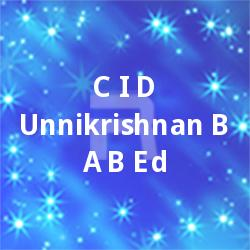 CID. Unnikrishnan