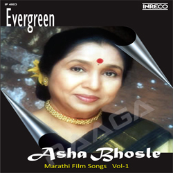 Evergreen Asha Bhosle Marathi Film Songs - Vol 1