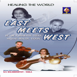 Listen to Raagam (Dwijaavanti - Suddha Dhanyasi) songs from East Meets West - Healing The World