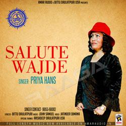 Salute Wajde songs