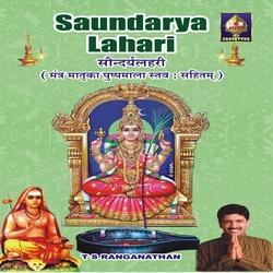 Sowndarya Lahari - TS. Ranganathan songs