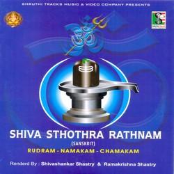 Shiva Sthothra Rathnam Rudram - Namakam - Chamakam songs