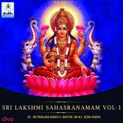 Listen to Sri Sthavam songs from Sri Lakshmi Sahasranamam - 1