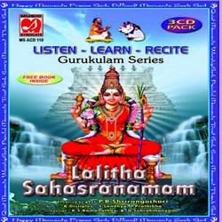 Gurukulam Series - Listen - Learn - Recite - Lalitha Sahasranamam
