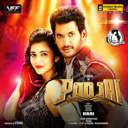 Listen to Odi Odi songs from Poojai