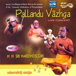 Pallandu Vazhga - Vol 2 (Bhajans)