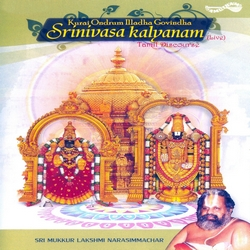 Kurai Ondrum Illadha Govindha - Srinivasa Kalyanam songs