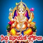 Siddi Vinayaka Slokalu songs