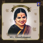 Live Concert Series (ML. Vasanthakumari) - Vol 1