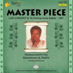 Master Piece (Live Concert at Sri Krishna Gana Sabha - 1974) songs