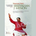 Classical Concert Live - Sreevalsan J. Menon (Vocal) songs