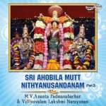 Listen to Anganmaa Gaala - Manja songs from Sri Ahobila Mutt Nithyanusantanam - Vol 2