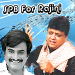 SPB For Rajini songs